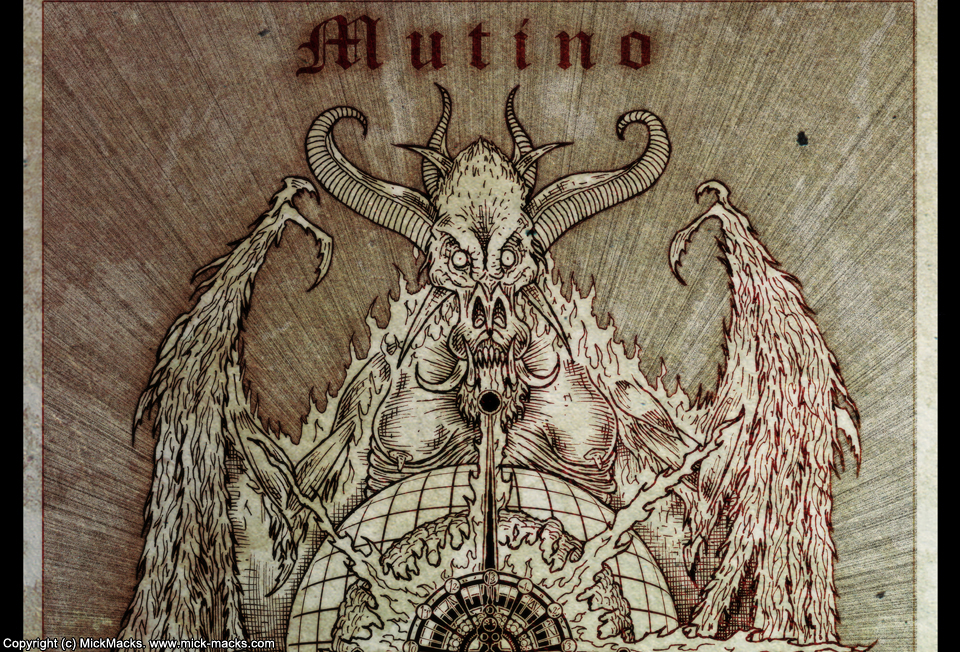 Mutino is a demon that will cause the apocalypse