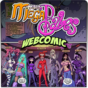 Meatbucket MegaBabes Webcomic